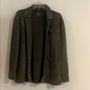 Abercrombie & Fitch Green Jacket